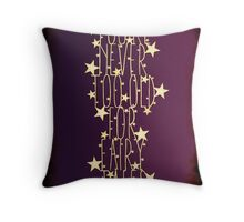 You're never too old for fairy tales - purple shadow Throw Pillow