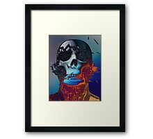 Andrew's Skull Framed Print