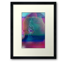 Surprise Glitches  Framed Print
