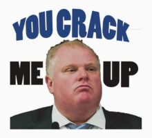 Rob Ford cracks me up by handless
