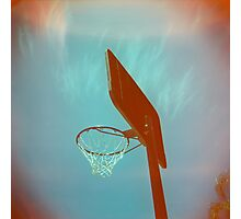 Basketball Ring Photographic Print