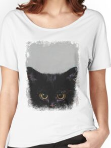 Black Kitten Women's Relaxed Fit T-Shirt