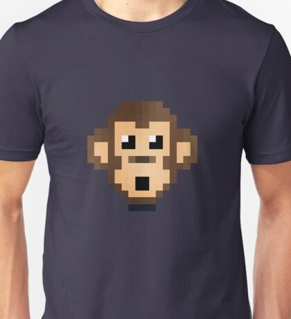 Retro Monkey Unisex T-Shirt