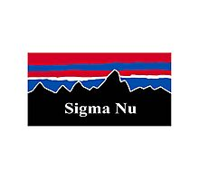 Sigma Nu Photographic Print