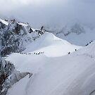 Snow ridge I by geophotographic