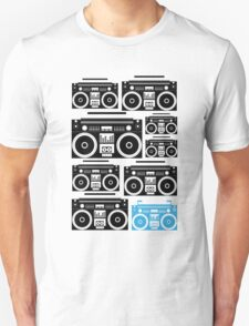 Boombox Black & Blue T-Shirt
