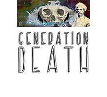 Generation Death. Photographic Print