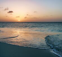 An Aruba Sunset by Polly Peacock