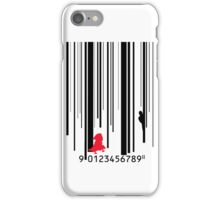 Little Red Barcode  iPhone Case/Skin
