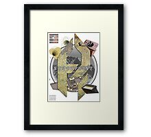 The Creative Force. Framed Print
