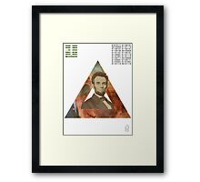 The Returning Point. Framed Print