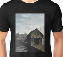 Knight on Guard at the Gatehouse Unisex T-Shirt