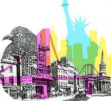NYC CMYK by XandraDesign