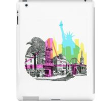 NYC CMYK iPad Case/Skin