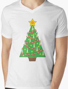 Danish Christmas Tree Mens V-Neck T-Shirt