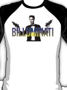 "BILL NYE THO ""Billuminati"" Design T-Shirt"