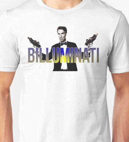 """BILL NYE THO """"Billuminati"""" Design Unisex T-Shirt"""