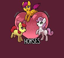 Hearts Strong as Horses Unisex T-Shirt