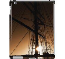 Yacht in the Sunset iPad Case/Skin