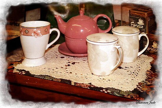 Coffee, Tea, Espresso ~ Steamy Hot! by SummerJade