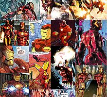Iron Man Collage by teecup