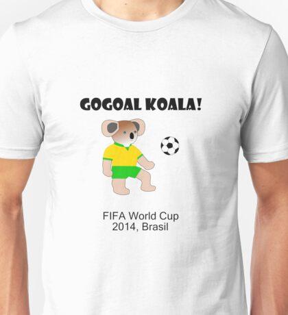 Go Goal Koala Unisex T-Shirt