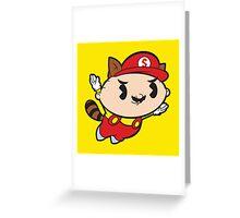 Super Mastermind Bros Greeting Card