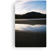 twilight   reflections at  Sealers' cove Canvas Print