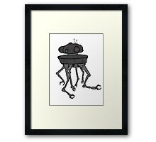 STARWARS - EMPIRE STRIKES BACK ROBOT Framed Print
