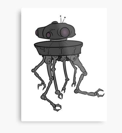 STARWARS - EMPIRE STRIKES BACK ROBOT Metal Print