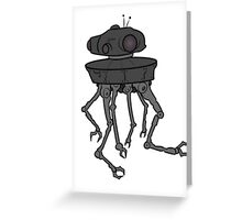 STARWARS - EMPIRE STRIKES BACK ROBOT Greeting Card