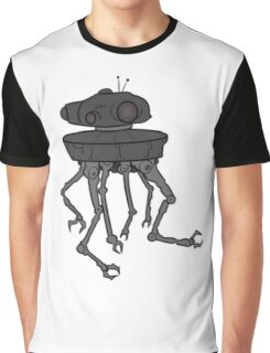 STARWARS - EMPIRE STRIKES BACK ROBOT Graphic T-Shirt