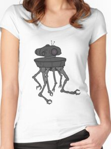 STARWARS - EMPIRE STRIKES BACK ROBOT Women's Fitted Scoop T-Shirt
