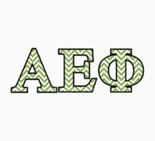 Alpha Epsilon Phi Chevron by mishyyyx3