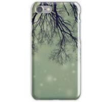 Alien Invader Trees iPhone Case/Skin