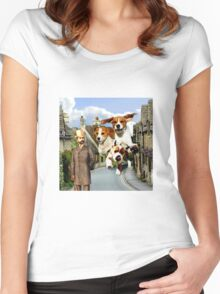 Hounds of the Baskervilles Women's Fitted Scoop T-Shirt