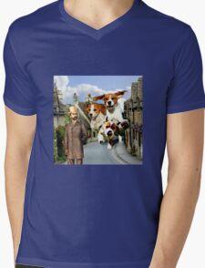 Hounds of the Baskervilles Mens V-Neck T-Shirt