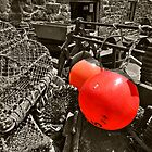 Cadgwith Buoys  by Rob Hawkins