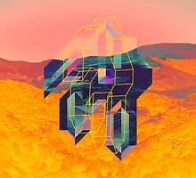 Psychedelic Canyon by Travis McLaren