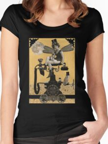 Telephone Fairy Women's Fitted Scoop T-Shirt