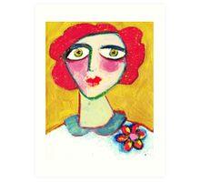 Livid Lynne  Art Print