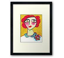 Livid Lynne  Framed Print