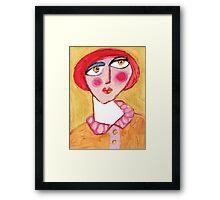 Maybe Mabel Framed Print