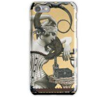 Lydia & her Lizard iPhone Case/Skin