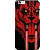 Dark Side Saber Toothed Tiger iPhone Case/Skin