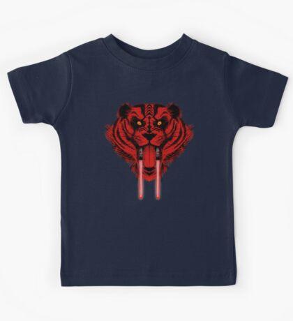 Dark Side Saber Toothed Tiger Kids Tee