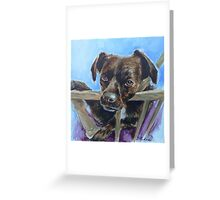 """Luckydog"" Greeting Card"