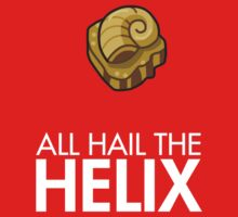 Twitch Plays Pokemon: All Hail The Helix! - Red with White Text by Twitch Plays Pokemon