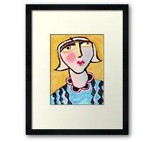 Extraordinary Edwina  Framed Print