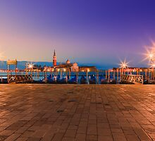 Sunrise in Venice. Taken from San Marco square and the view towards San Girogio Maggiore. by Henk Meijer
